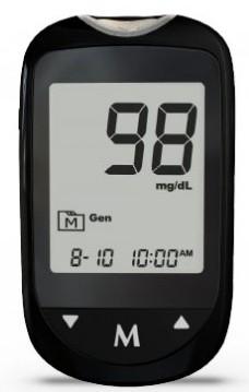 GlucoX Quick Result Blood Glucose Monitoring Machine