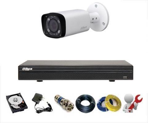 CCTV Package Dahua 4 Channel DVR 1-Pcs Camera 320GB HDD
