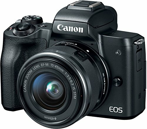 Canon EOS M50 DIGIC-8 Processor 24MP Wi-Fi Mirrorless Camera