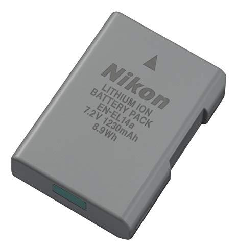 Nikon EN-EL14a Li-Ion 1230 mAh Rechargeable Camera Battery