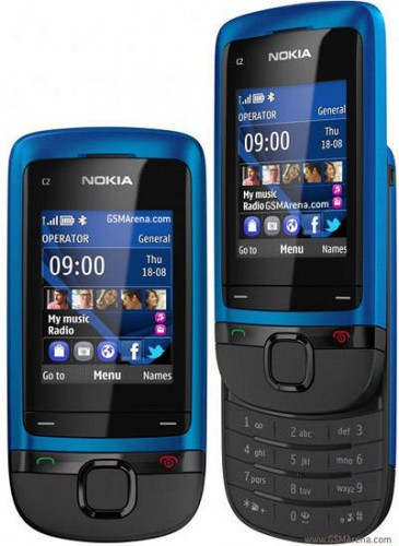 Nokia C2-05 Sliding Phone