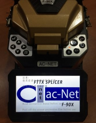 AC-Net F-90X Optical Fiber Splicer Machine