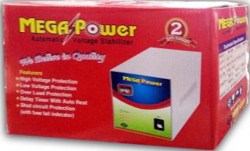 Mega Power Automatic Voltage Stabilizer