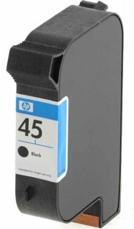 HP 45 Black Original Ink Printer Cartridge