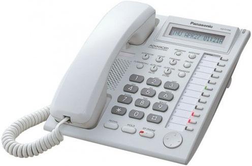 Panasonic KX-T7730X Corded Landline Phone with Answering Machine