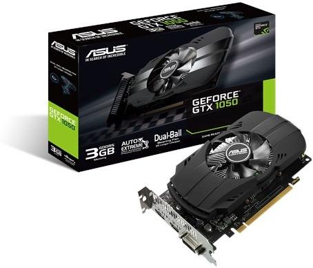 Asus Phoenix GeForce GTX 1050 3GB GDDR5 Graphics Card