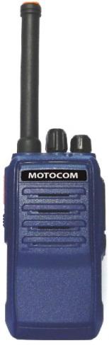 Motocom MC-300 Handheld SBR Two-Way  Radio Walkie Talkie