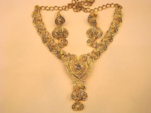 Imitation Necklace 349 Gold Plated Jewlery Price Bangladesh Bdstall