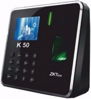 ZKTeco K50 Fingerprint Reader Time Attendance Access Control