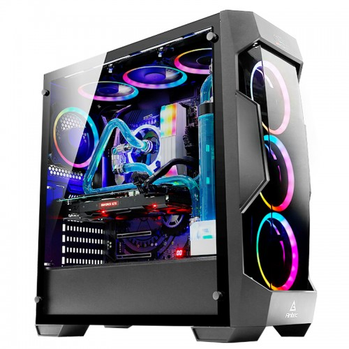 Antec DF500 RGB Dark Fleet Series Mid Tower Gaming Casing