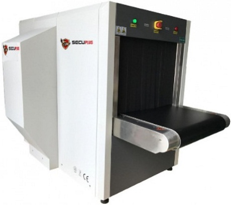 Secuplus SPX-6550DV Dual View X-Ray Baggage Scanner
