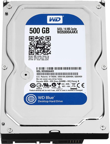 Western Digital WD5000AAKX 500GB Hard Disk
