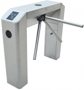 ZKTeco TS2022 Fingerprint Tripod Turnstile with Controller