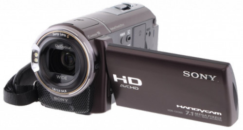 Sony HDR-CX360V High Definition GPS Camcorder