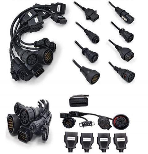 Full Set of 8 Car Diagnostic Cable for OBD OBD1 OBD2