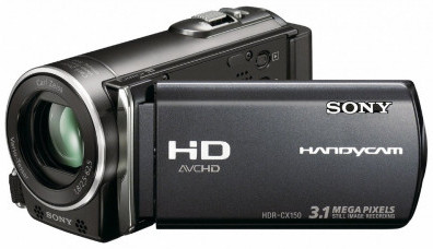 Sony HDR-CX150 16GB HD Handycam Camcorder