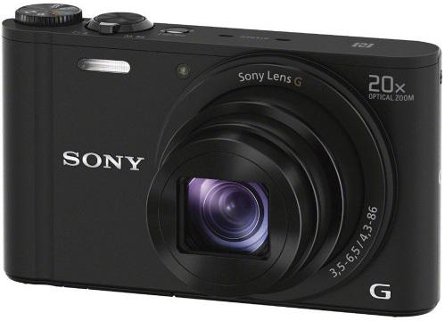 Sony Cyber Short  DSC-WX350 18 MP Digital Camera