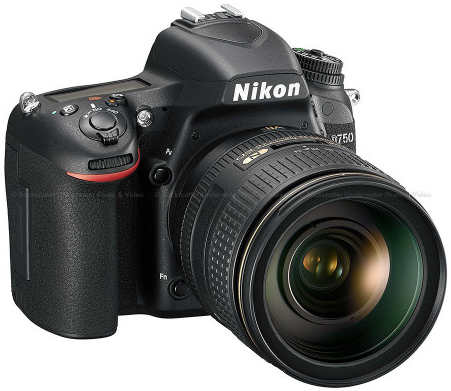 Nikon D750 DSLR 24.3MP FX-Format Photograpy Camera