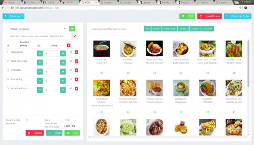 Restaurant / Stationary / Retail / Medicine POS Software