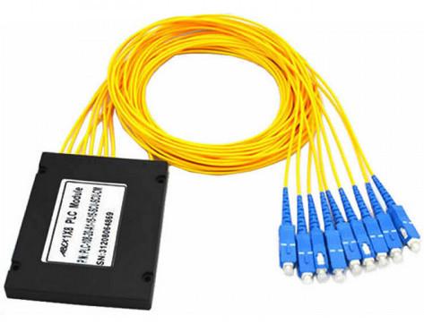 PLC Fibre Optic Splitter with ABS Box