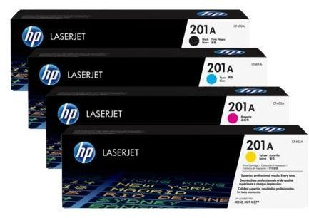 HP 201A Original LaserJet Printer Toner Cartridge Set
