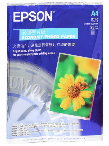 Epson A4 Size Photo Paper