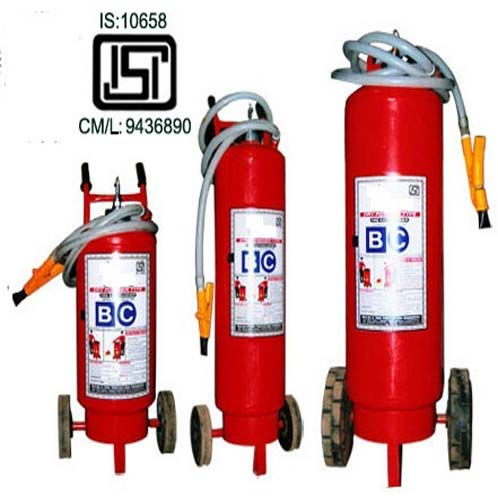 Fire Extinguisher-ABC 25 Kg Dry Chemical Powder with Trolley