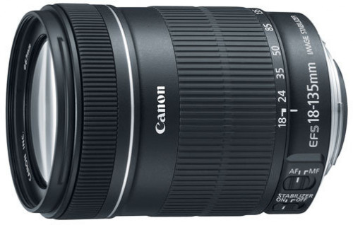 Canon EF-S 18-135mm f/3.5-5.6 IS Standard Zoom Lens