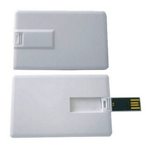 Card Shape 8 GB Pen Drive with Logo Printing