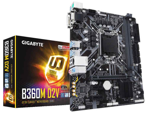 Gigabyte B360M D2V DDR4 8th Gen Motherboard price(4,500)