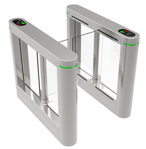 RFID Dual Lane Swing Turnstile Gate