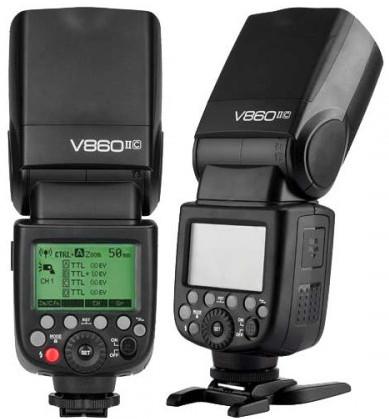 Godox V860II TTL Camera Flash Kit