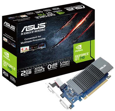 Asus GT710-SL DDR5 2GB Graphics Card