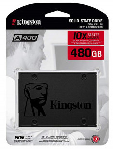 Kingston A400 480GB SATA-3 Solid State Drive
