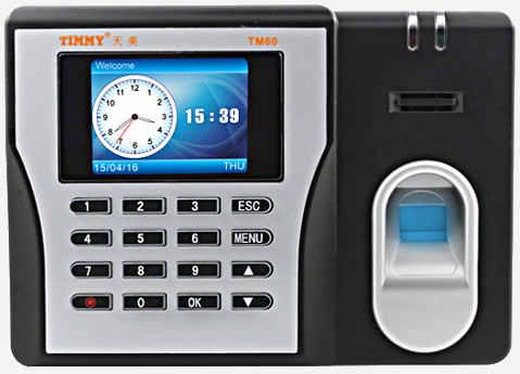 Timmy TM60 Fingerprint Time Attendance Access Controller