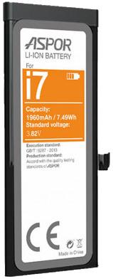 Aspor iPhone 7 Li-Ion Battery