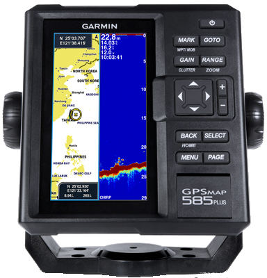 Garmin GPSMAP 585 Plus Fishfinder