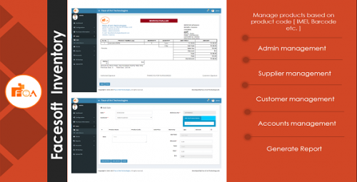 Digital Signature Base Inventory with Stock Management