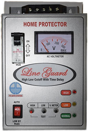 Built-In Thermal Overload Voltage Protector