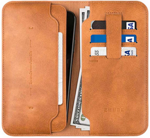 Zhuse X Flip Cover Men Leather Wallet