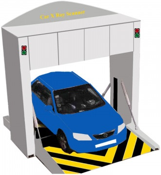 Secuplus SPV-160FD Vehicle X-Ray Scanner