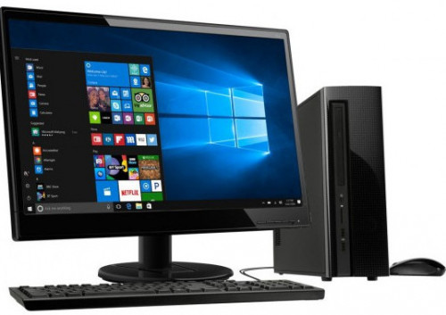 Desktop PC 7th Gen 4GB RAM 500 HDD 19-Inch Monitor