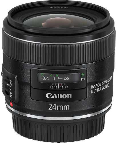 Canon EF-S 24mm f/2.8 STM Camera Lens