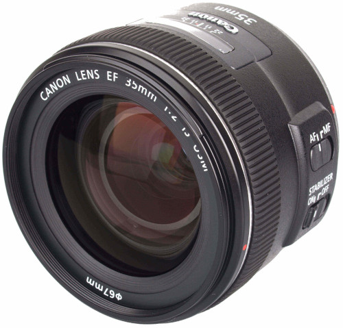 Canon 35mm f/2 IS USM Lens