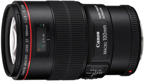 Canon Macro 100mm f/2.8L IS USM Lens