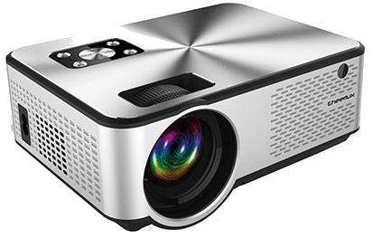 Cheerlux C9 Mini 2800 Lumen HD TV Projector