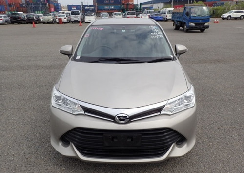 Toyota Axio X Beige 2015 New Shape