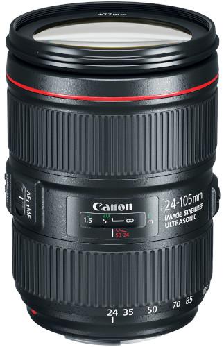 Canon EF 24-105mm F/4L IS ll USM Lens