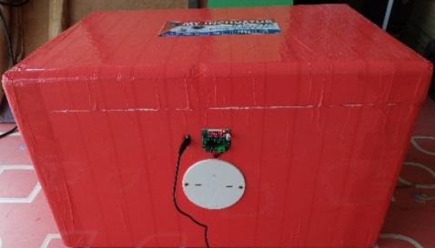 120 Semi Auto Egg Incubator Machine