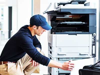 Analyze and Fix Toshiba Photocopier Problem